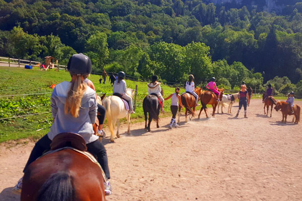 Équitation - Colonie de Vacances Neige & Plein Air