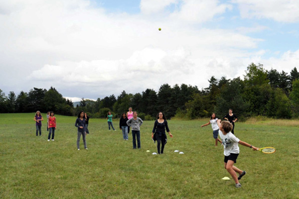 Jeux de plein air - Colonie de Vacances Neige & Plein Air