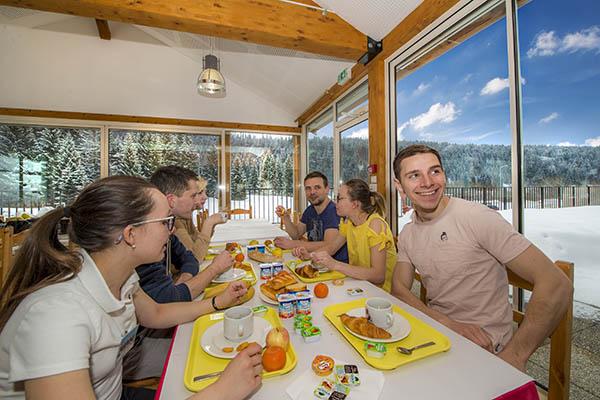 Le restaurant - Village Vacances Neige et Plein Air