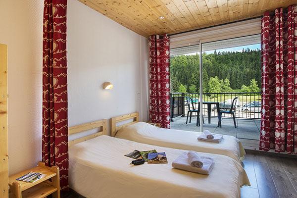 Les chambres - Village Vacances Neige et Plein Air